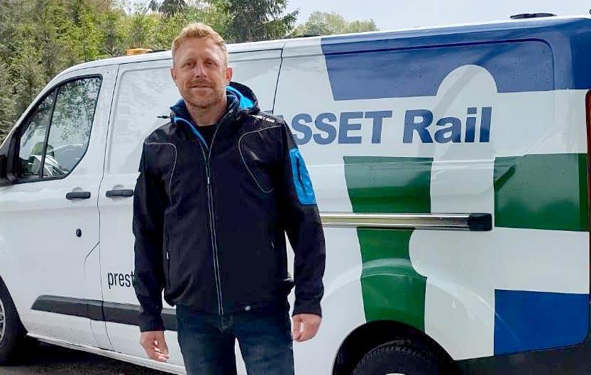 Nieuwe jas ASSET Rail